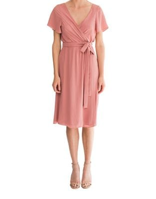 Abigail Knee-Length Dress by Paper Crown