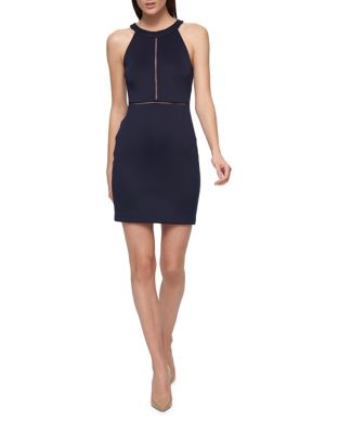 Halter Cut-Out Dress by Guess
