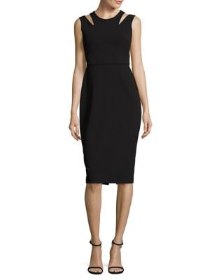 Midi Sheath Dress by Calvin Klein