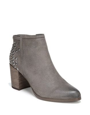 Beaded Leather Booties by Fergie