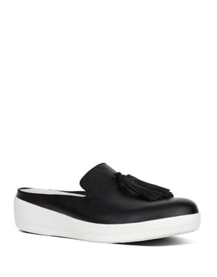 Superskate Leather Mules by FitFlop