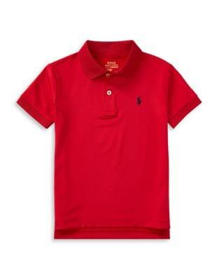 Little Boys Stretch Lisle Polo Shirt