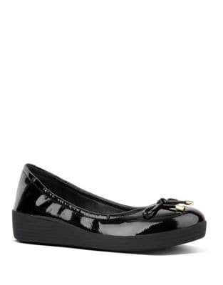 Superbendy TM Patent Leather Ballerinas by FitFlop