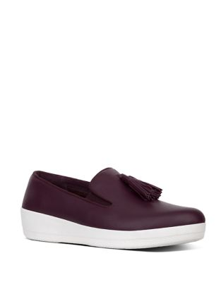 Tassel Bow TM Leather Loafers by FitFlop
