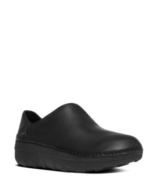 Superloafer TM Leather Slip-Ons by FitFlop
