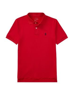 Boy's Stretch Lisle Polo...