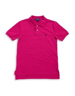 Boys ShortSleeve Cotton Polo