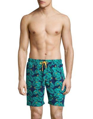 Printed Swim Shorts @...