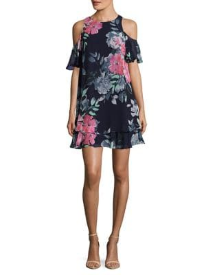 Eliza Floral Mini Dress by Eliza J