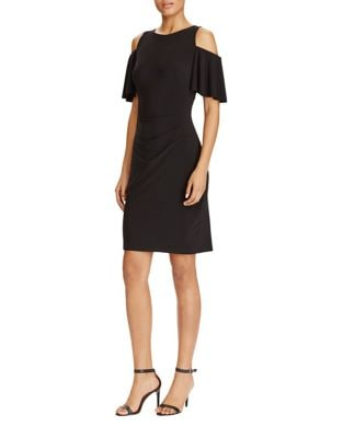 Cold Shoulder Jersey Sheath Dress by Lauren Ralph Lauren