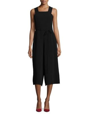 Crepe Cropped Jumpsuit by Maggy London