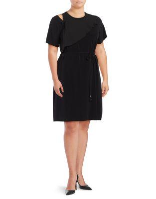Shoulder Cutout Dress by Ivanka Trump