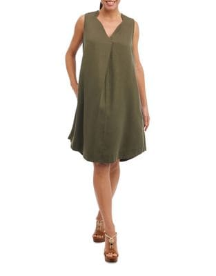Sleeveless Shift Dress 500087246934
