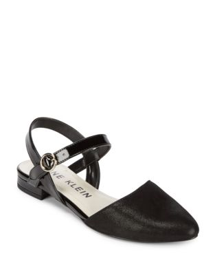 Odell Textile Slingback Flats by Anne Klein