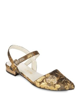 Embroidered Odell Slingback by Anne Klein