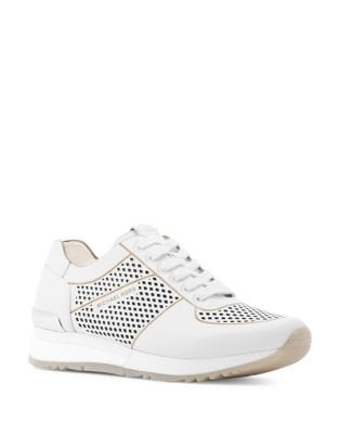 Tilda Leather Trainer Sneakers by MICHAEL MICHAEL KORS