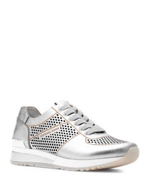 Tilda Trainer Metallic Sneakers by MICHAEL MICHAEL KORS