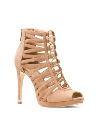Clarissa Suede Platform Sandals by MICHAEL MICHAEL KORS