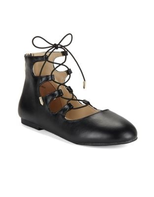 Girl's Lace-Up Ballet...