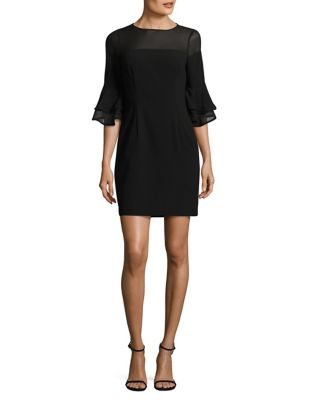 Illusion Sheath Dress by Aidan Aidan Mattox