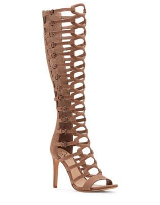 Knee-High Gladiators by Vince Camuto
