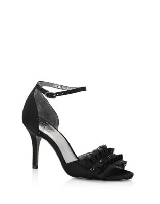 Two-Piece Ruffled Sandals by Adrianna Papell