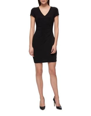 Gathered Sheath Dress by Guess