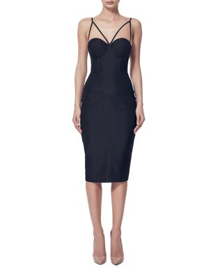 V-Neck Sleeveless Dress by Misha Collection