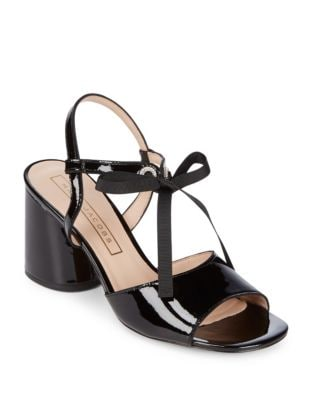 Photo of Wilde Patent Leather Sandals by Marc Jacobs - shop Marc Jacobs shoes sales