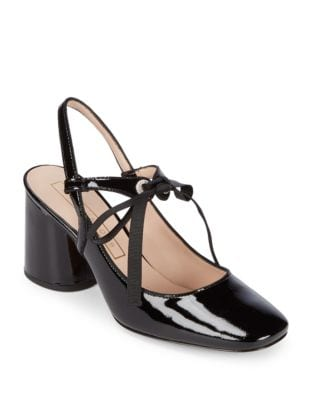 Bobbi Patent Leather Pumps by Marc Jacobs
