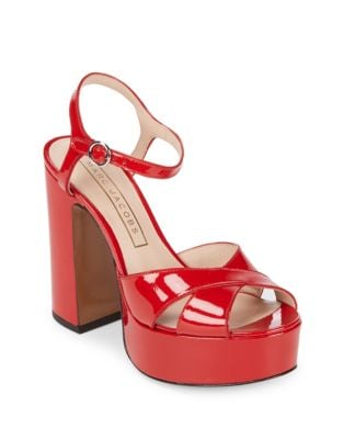 Lust Patent Leather Platform Sandal by Marc Jacobs