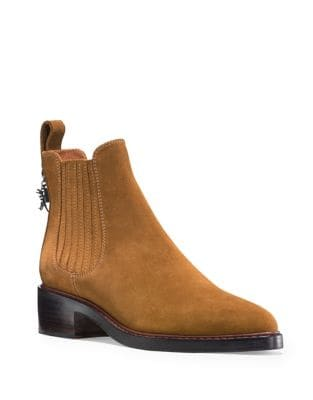 Bowery Suede Booties by COACH