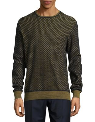 Cotton Mesh Net Sweater...