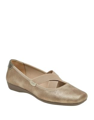 Ulisa Square Toe Flats by Anne Klein