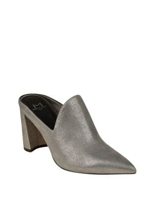 Leather Pointed Toe Mule by Marc Fisher LTD