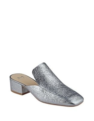 Lailey Leather Mules by Marc Fisher LTD