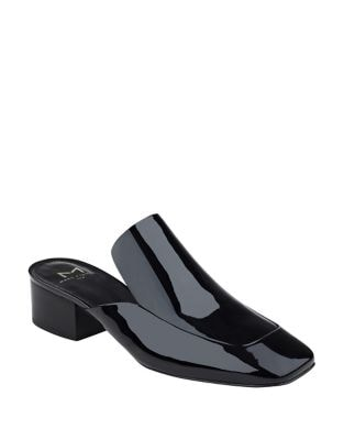 Lailey Patent Leather Mules by Marc Fisher LTD