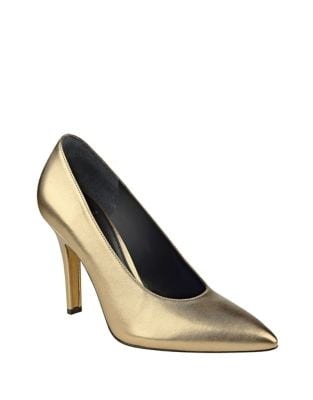 Ulla Leather Pointed Toe Pumps by Marc Fisher LTD