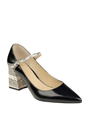 Zullys Leather Pointed Toe Pumps by Marc Fisher LTD