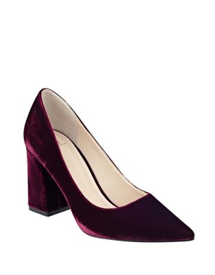 Jenny Velvet Pumps by Marc Fisher LTD