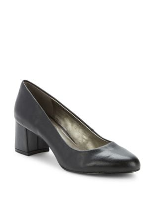 Oria Block Heeled Pumps by Bandolino