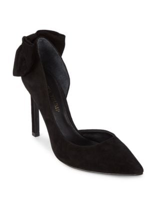 Candi Suede Point Toe Pumps by Ivanka Trump