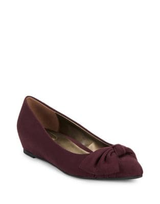 Ressie Point Toe Wedge Pumps by Bandolino