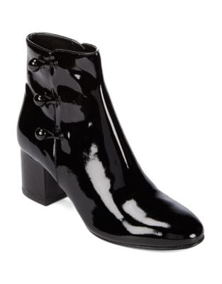 Parin Patent Leather Ankle Boots by Ivanka Trump