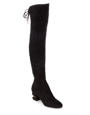 Paxxi Textile Over The Knee Boots by Ivanka Trump