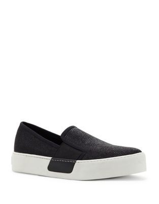 Waylan Leather Slip-On Sneakers by 1.STATE