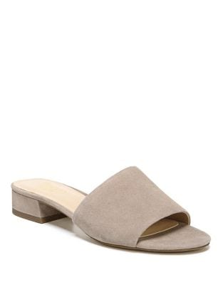Sabani Leather Slides by Franco Sarto