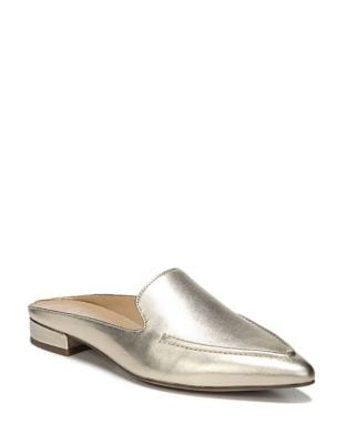 Sela Leather Mules by Franco Sarto