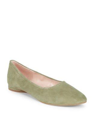 Myrina Suede Ballet Flats by Avec Les Filles