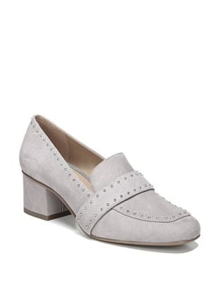 Lance Suede Studded Loafers by Franco Sarto